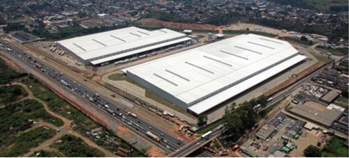 Condomínio em Belford Roxo (RJ), constuído pela Hines, em parceia com a Libercon